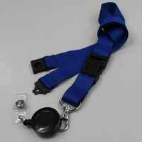 Zip reel lanyard