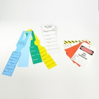 PVC - PE and Tyvel labels...