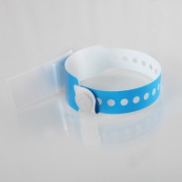 Label shield child wristbands