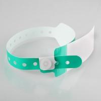 Hospital wristband with a...
