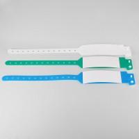 Bracelet hôpital à rabat XL