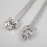 Reusable stainless steel ties