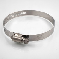 Hose clamps with perforated...