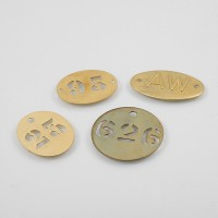 Brass tokens