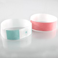 Write-on tyvek child wristband