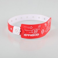 XL vinyl wristbands