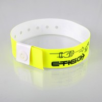 L shape vinyl wristbands