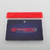 Porte badges souple format CB