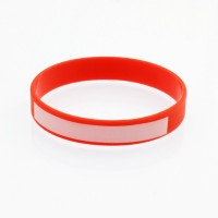 Silicone wristbands with...
