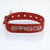 Woven wristband with inside...