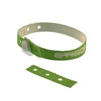 Bracelet tissu clip - recyclé