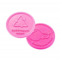 Bubble gum tokens