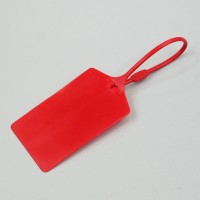 Arrow-like label tag