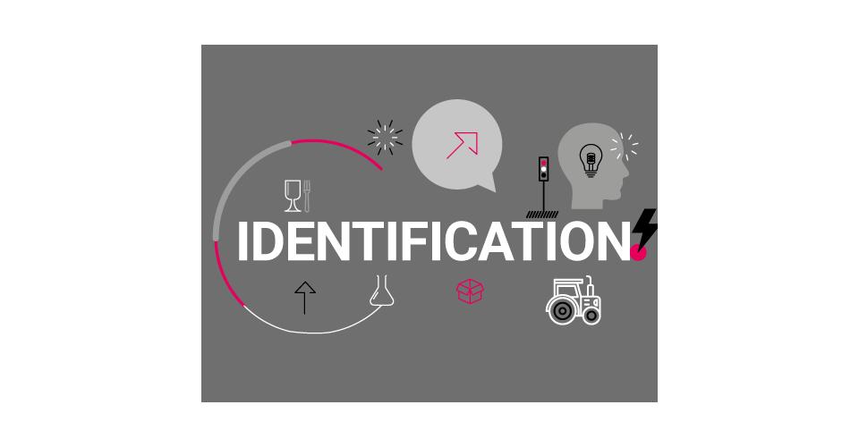Articles d'identification et d'emballage, porte etiquette et badge