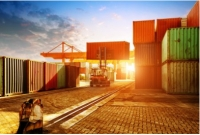 La fermeture d'un conteneur maritime
