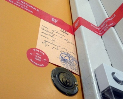 Forensic Seals: Sealing materials